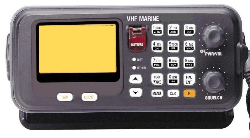 VHF very high frequency radio