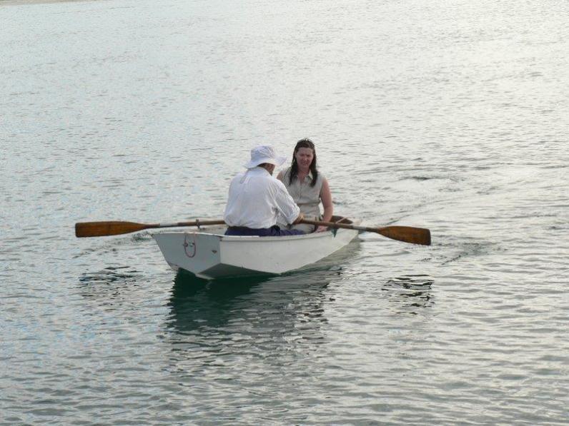 Anchoring at Las Perlas