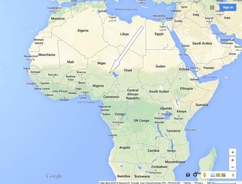 map Africa 3