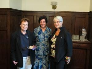 Kathy Wendt,  Sr. Barbara Dakoske, Suzanne Lareau