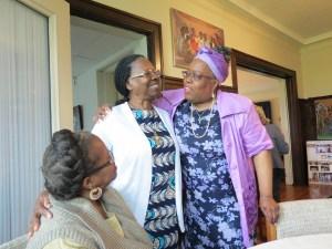 Sr. Elizabeth with Akua Budu-Watkins