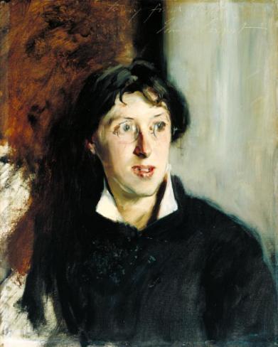 Vernon Lee 1881 John Singer Sargent 1856-1925 Bequeathed by Miss Vernon Lee through Miss Cooper Willis 1935 http://www.tate.org.uk/art/work/N04787