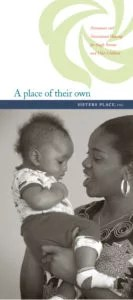 A place of their own - Sisters Place Inc