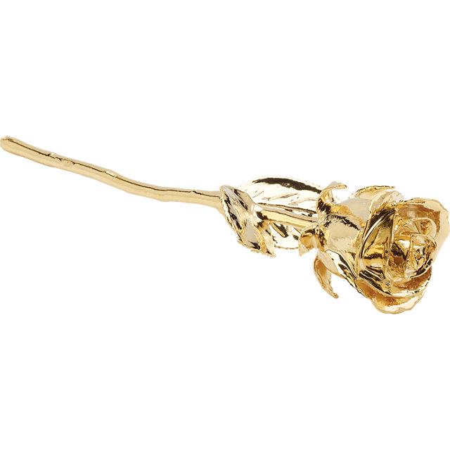 24k Gold Rose Bud 2