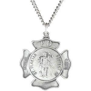 Saint Florian Necklace