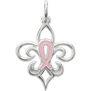 Pink Pourri Breast Cancer Awareness Pendant