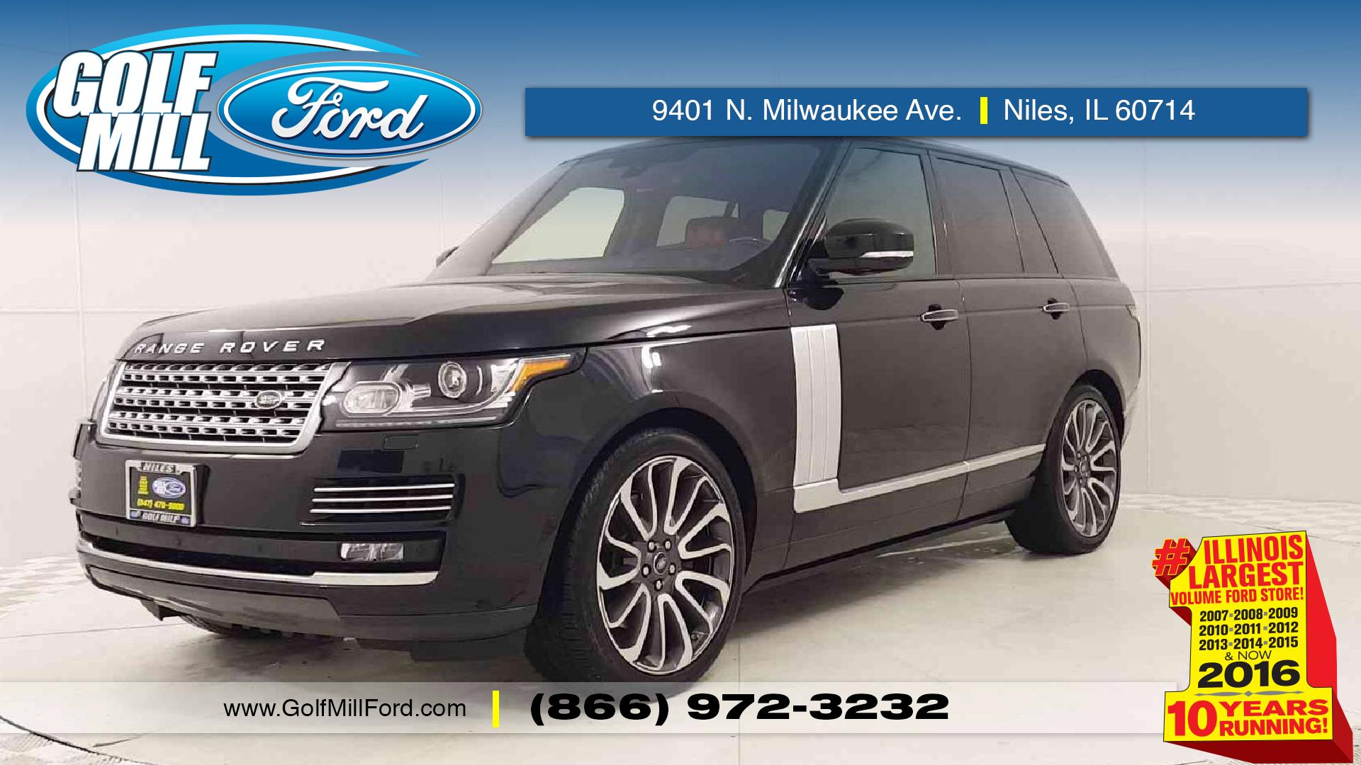 Used Land Rover for Sale in Niles IL Golf Mill Ford