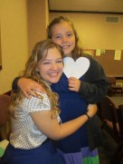 K-, a recent convert in our ward. I love her so much!
