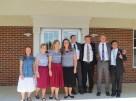 Sister Drollinger, Sister Woodard, me, Sister Hathaway, Elder Noll, Elder Simkins, Elder Hillier, Elder Herzog