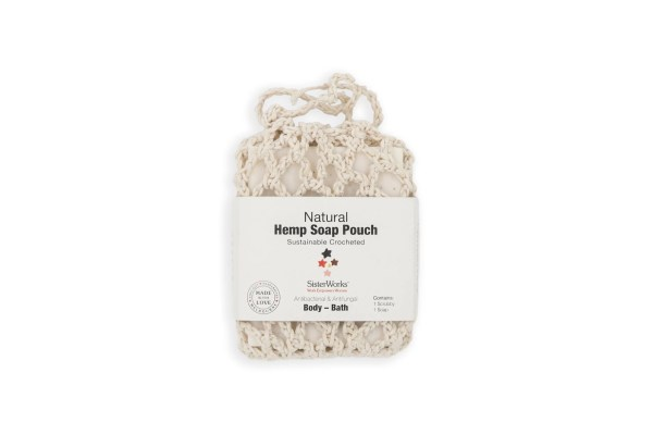 Natural hemp Soap Pouch