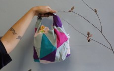 Foldable lunch bag