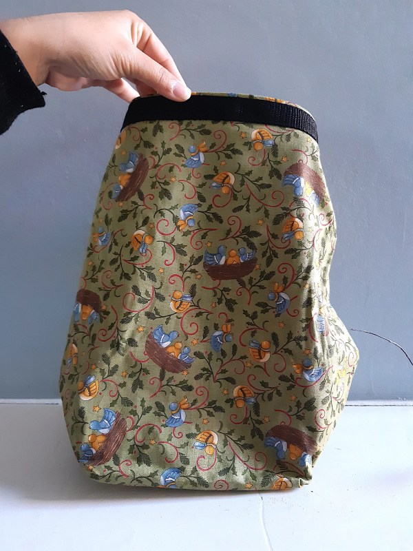 Foldable washable Lunch bags