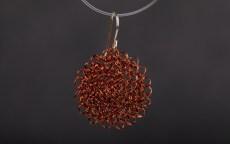 Wire crochet jewellery- PAMdesigned