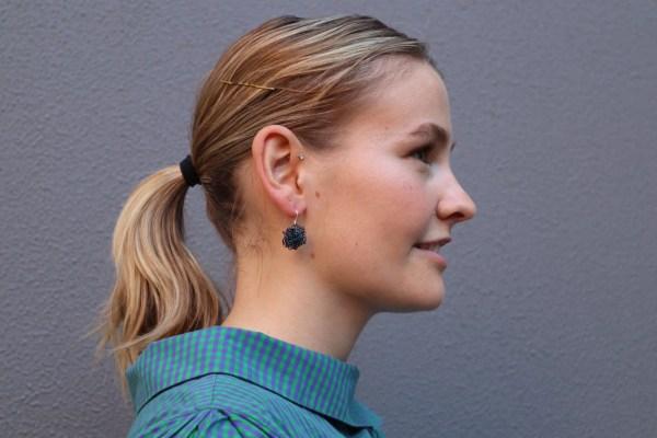 Pamela - Wire Pom Poms Earrings