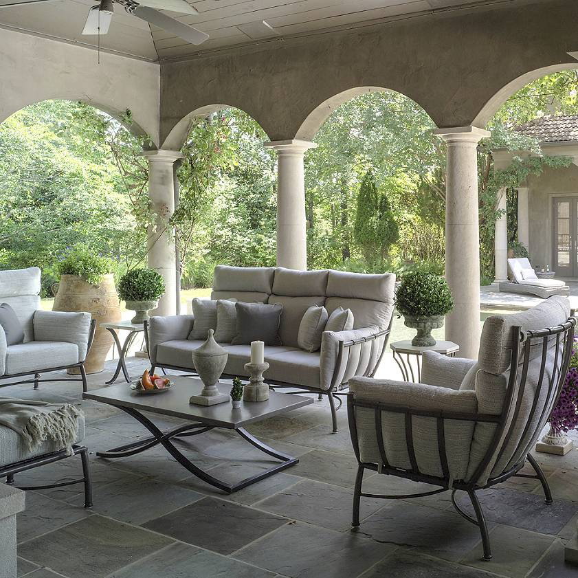Tips for Creating the Perfect Outdoor Living Space - Sita ... on Living Spaces Outdoor Sectional id=76892