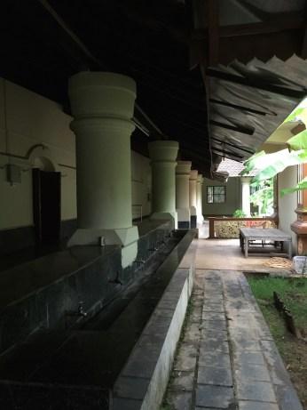 The wide corridors