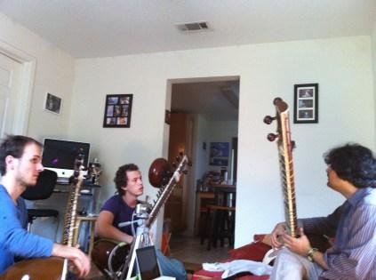 Yaman Practice with Pablo Escalante and Arnaud Urin.