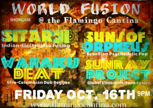 World Music Fusion Austin Flamingo Cantina