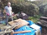 Sorting the wood