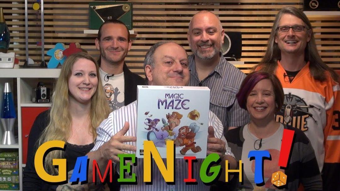 Magic Maze on BGG - Game Night!