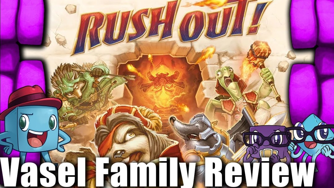 Vasel Family Reviews: Rush Out!