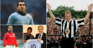Premier League: The highest paid player of each season from 1992/93 to 2020/21