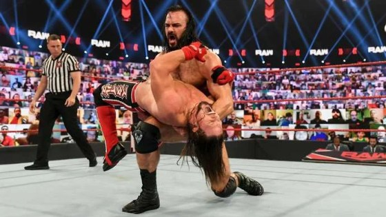 McIntyre defeated Styles at RAW
