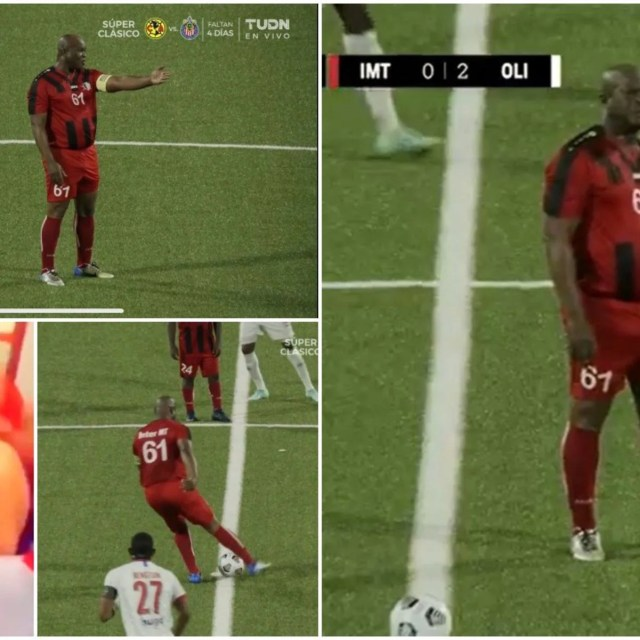 Ronnie Brunswijk - vice-president of Suriname - plays himself for the club  he owns   GiveMeSport