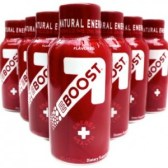BevNet EBOOST Super Berry Shot healthy energy drink mix