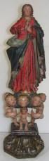 Assomption de la Vierge, statuette 19ème.