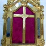 Cadre de Christ en ivoire, XVIIème