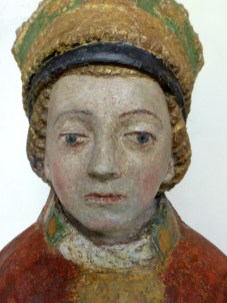 Statue polychrome