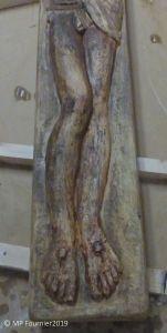 Christ en plâtre de Mareck Szwarc