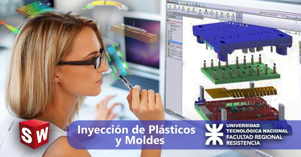 Inyección de plásticos y moldes con Solidworks Plastics®