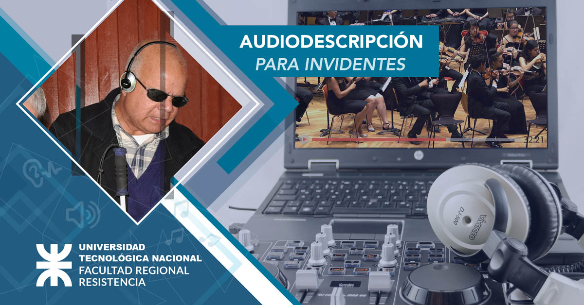 Audiodescripción para Invidentes