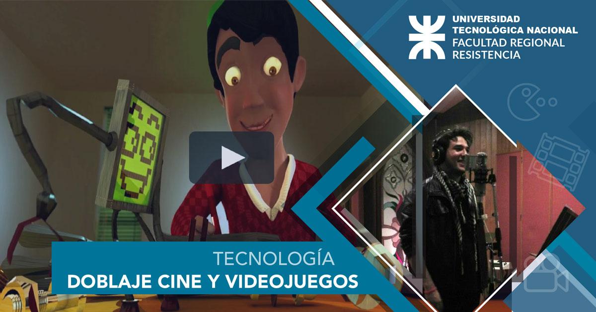 Doblaje para Cine y Videojuegos