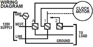 Intermatic T101R 120V 40Amp Timer Switch T101R NEW   eBay