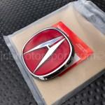 Genuine Oem Honda Acura 97 01 Integra Type R Front Rear Red A Emblem Set Dc2