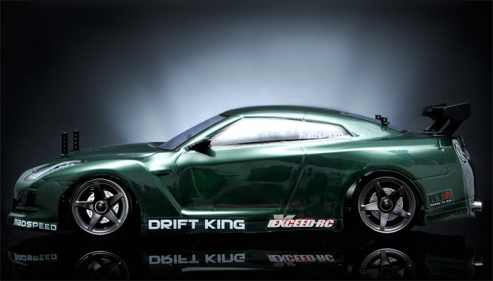 Exceed RC Drift King Brushless - Green