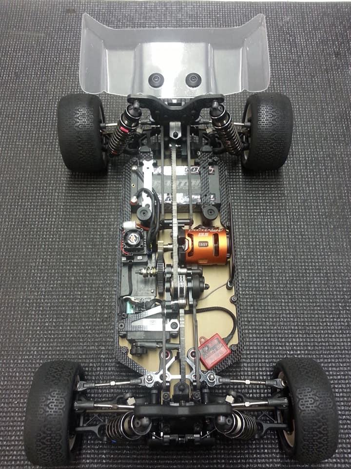 Schumacher Cat L1 Electronics Setup