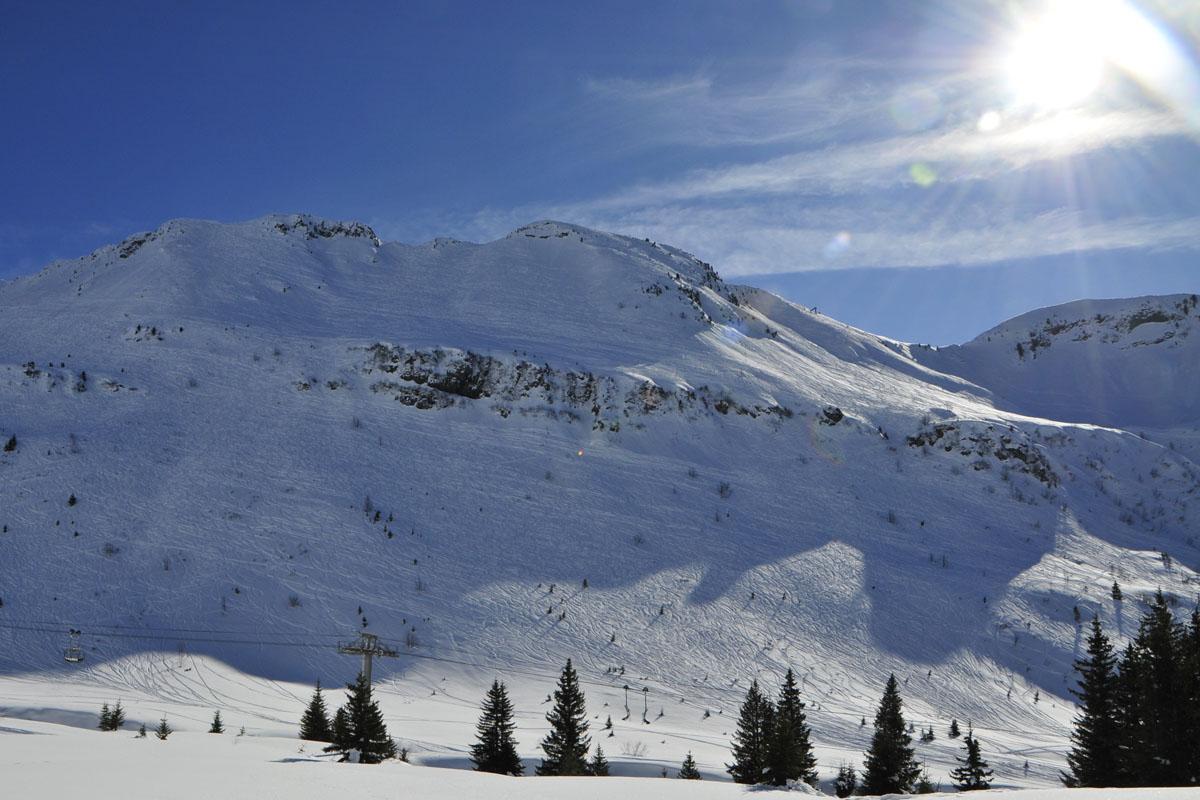 <h6>[Flaine-Les Carroz d'Âraches] (Haute-Savoie). 2016.</h6>
