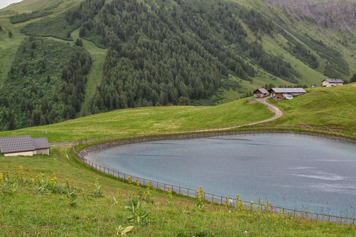 <h6>[La Plagne] (Savoie). 2012.</h6>