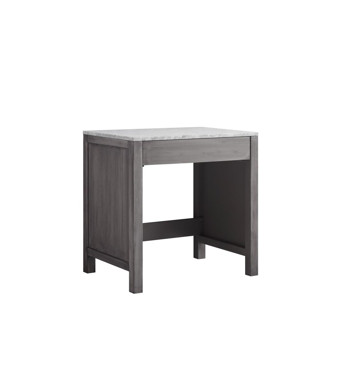 Lexora Lj302230ddsmtb 30 In Jacques Single Make Up Table