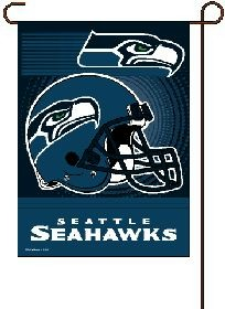 Seattle Seahawks 11 x15 Garden Flag