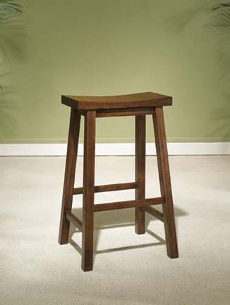 """Founded in 1968   has been a leading importer of design driven  high quality products for nearly 40 years. The Company`s success is a result of its service-oriented culture  broad product offerings and an industry wide reputation for reliability  integrity and honesty. This bar stool is made from solid tropical wood  and is finished in """"Honey Brown"""" to easily match todays kitchens. The seat features a wide scoop for added comfort. Some assembly required.Dimensions: 17-1/2"""" x 14-1/4"""" x 29"""" tall  Seat Height: 29""""  It may take an additional 1-2 weeks for this item to arrive."""