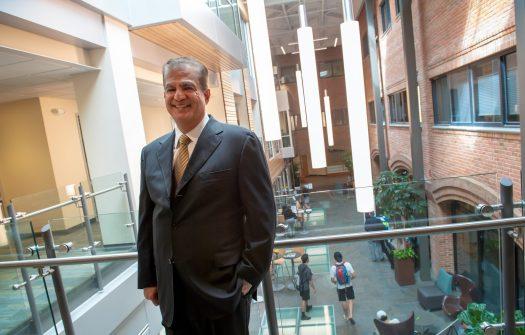 Grossman School of Business, Dean Sanjay Sharma