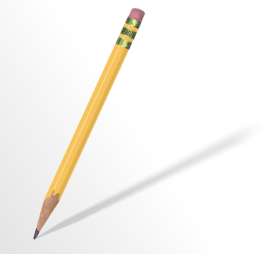 Using a magic pencil will improve your writing.