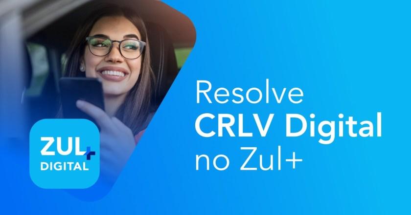 resolve crlv digital com Zul+