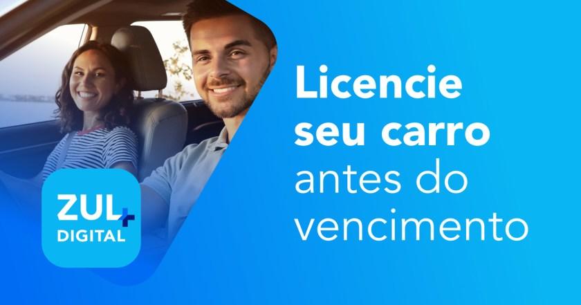 banner zul+ licencie seu carro antes do vencimento