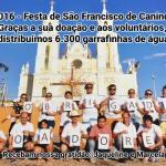Doação de água – Festa de São Francisco de Canindé 2017